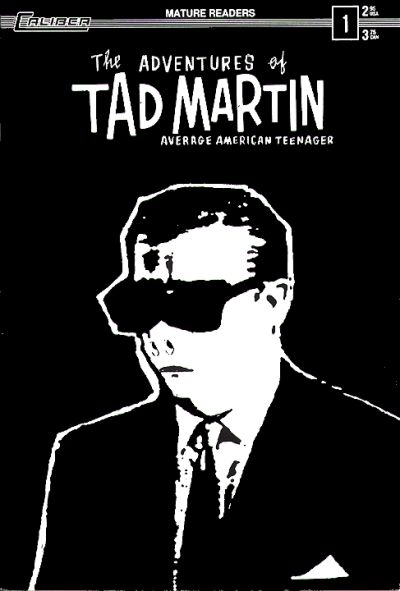 Cover for Tad Martin [The Adventures of Tad Martin] (Caliber Press, 1991 series) #1