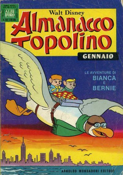 Cover for Almanacco Topolino (Arnoldo Mondadori Editore, 1957 series) #253