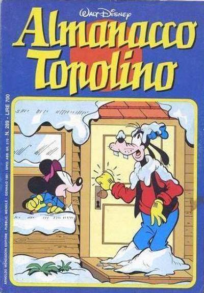 Cover for Almanacco Topolino (Arnoldo Mondadori Editore, 1957 series) #289