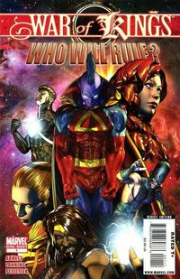 Cover Thumbnail for War of Kings: Who Will Rule? (Marvel, 2009 series) #1