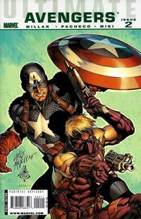 Cover Thumbnail for Ultimate Avengers (Marvel, 2009 series) #2