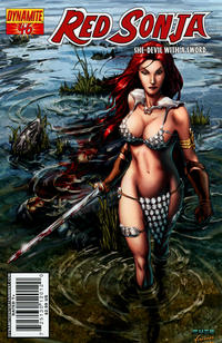 Cover Thumbnail for Red Sonja (Dynamite Entertainment, 2005 series) #46 [Cover A]