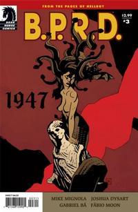 Cover Thumbnail for B.P.R.D.: 1947 (Dark Horse, 2009 series) #3