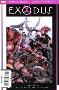 Cover Thumbnail for Dark Avengers / Uncanny X-Men: Exodus (Marvel, 2009 series) #1 [McNiven Cover]