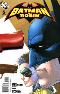 Cover Thumbnail for Batman and Robin (DC, 2009 series) #5 [Frank Quitely Cover]