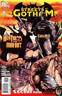 Cover Thumbnail for Batman: Streets of Gotham (DC, 2009 series) #5