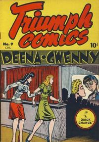 Cover Thumbnail for Triumph Comics (Bell Features, 1950 series) #9