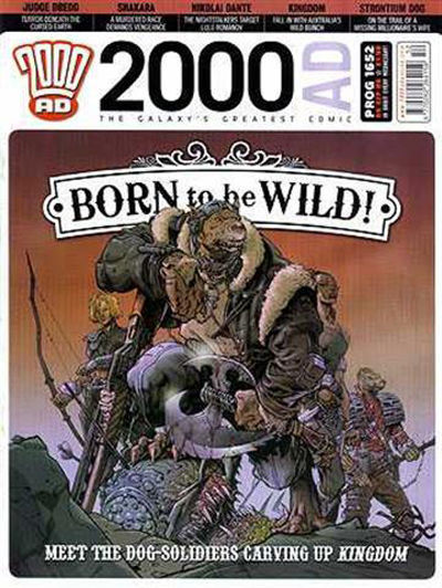 Cover for 2000 AD (Rebellion, 2001 series) #1652