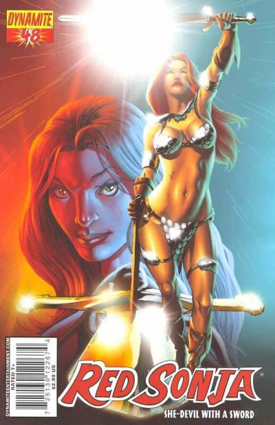 Cover for Red Sonja (Dynamite Entertainment, 2005 series) #48 [Cover A]