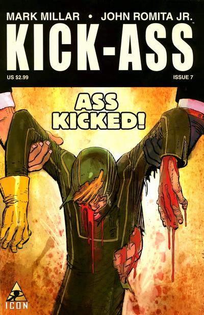 Cover for Kick-Ass (Marvel, 2008 series) #7