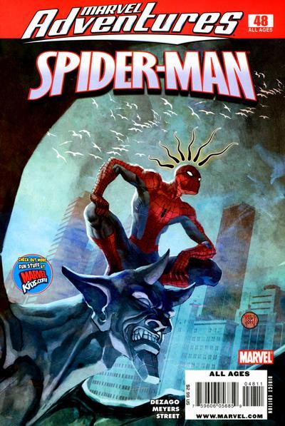 Cover for Marvel Adventures Spider-Man (Marvel, 2005 series) #48