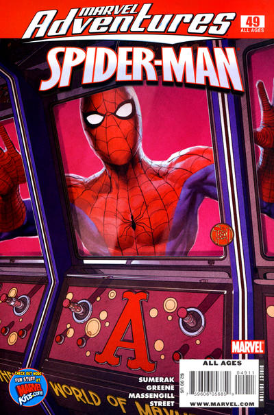 Cover for Marvel Adventures Spider-Man (Marvel, 2005 series) #49