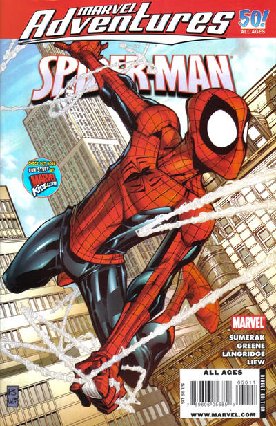 Cover for Marvel Adventures Spider-Man (Marvel, 2005 series) #50