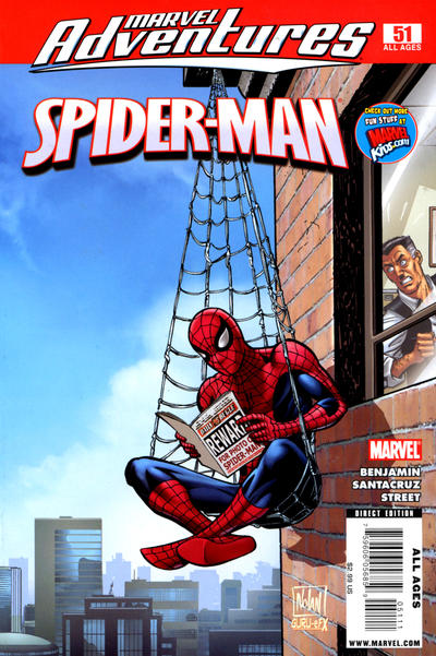 Cover for Marvel Adventures Spider-Man (Marvel, 2005 series) #51