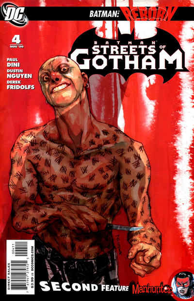 Cover for Batman: Streets of Gotham (DC, 2009 series) #4