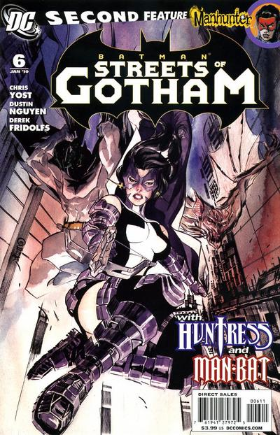 Cover for Batman: Streets of Gotham (DC, 2009 series) #6