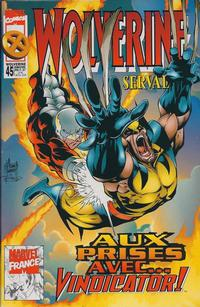 Cover Thumbnail for Wolverine (Panini France, 1997 series) #45