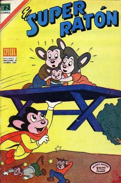 Cover for El Super Ratón (Epucol, 1970 series) #111