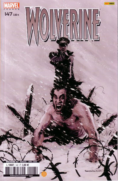 Cover for Wolverine (Panini France, 1997 series) #147