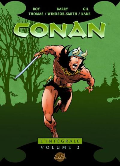 Cover for Conan L'Intégrale (Soleil, 2004 series) #3