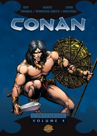 Cover for Conan L'Intégrale (Soleil, 2004 series) #4