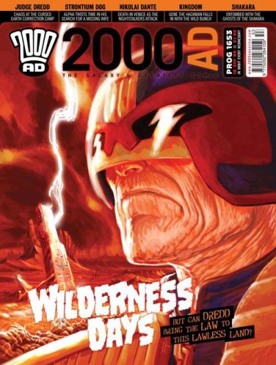Cover for 2000 AD (Rebellion, 2001 series) #1653
