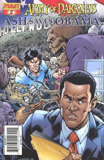 Cover for Army of Darkness: Ash Saves Obama (Dynamite Entertainment, 2009 series) #2
