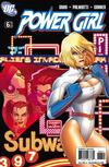 Cover for Power Girl (DC, 2009 series) #6