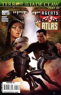 Cover Thumbnail for Agents of Atlas (Marvel, 2009 series) #11