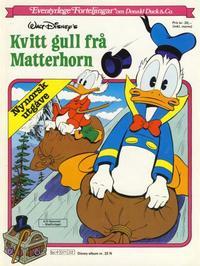 Cover Thumbnail for Disney-Album [Walt Disney's Beste Historier om Donald Duck & Co][Nynorsk utgåve] (Hjemmet / Egmont, 1984 series) #22 N