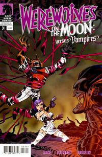 Cover Thumbnail for Werewolves on the Moon: Versus Vampires (Dark Horse, 2009 series) #3