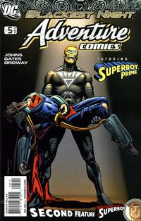 Cover Thumbnail for Adventure Comics (DC, 2009 series) #5 / 508 [Regular Direct Cover]