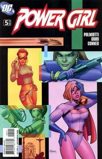 Cover Thumbnail for Power Girl (DC, 2009 series) #5 [Amanda Conner Cover]