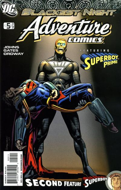 Cover for Adventure Comics (DC, 2009 series) #5 / 508 [Regular Direct Cover]