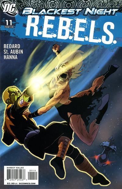 Cover for R.E.B.E.L.S. (DC, 2009 series) #11