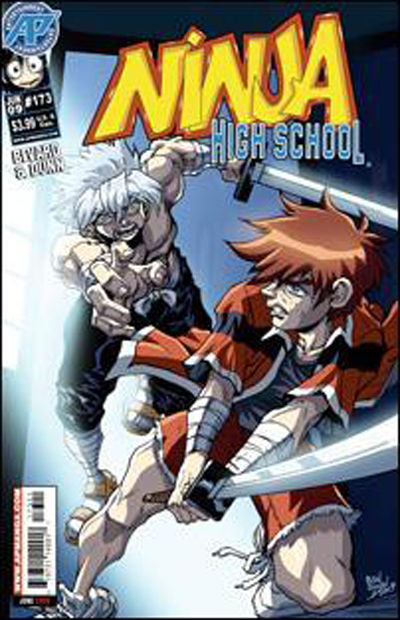 Cover for Ninja High School (Antarctic Press, 1994 series) #173