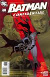 Cover for Batman Confidential (DC, 2007 series) #38