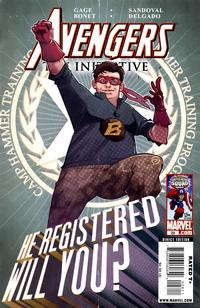 Cover Thumbnail for Avengers: The Initiative (Marvel, 2007 series) #28