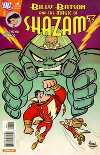 Cover Thumbnail for Billy Batson & the Magic of Shazam! (DC, 2008 series) #8