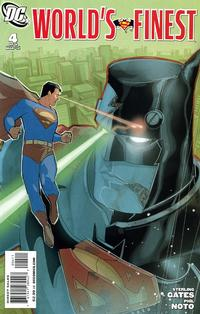 Cover Thumbnail for World's Finest (DC, 2009 series) #4 [Superman cover]