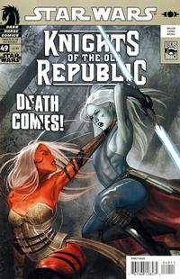 Cover Thumbnail for Star Wars Knights of the Old Republic (Dark Horse, 2006 series) #49