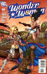 Cover Thumbnail for Wonder Woman (DC, 2006 series) #36