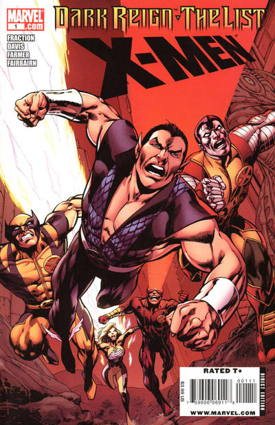 Cover for Dark Reign: The List - X-Men (Marvel, 2009 series) #1 [Second Printing]