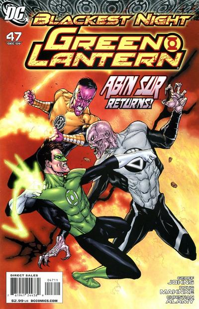 Cover for Green Lantern (DC, 2005 series) #47 [Standard Cover]