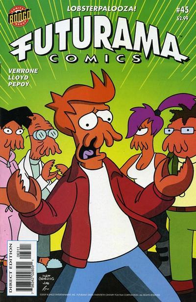 Cover for Bongo Comics Presents Futurama Comics (Bongo, 2000 series) #45