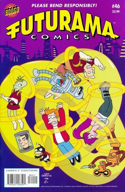 Cover for Bongo Comics Presents Futurama Comics (Bongo, 2000 series) #46