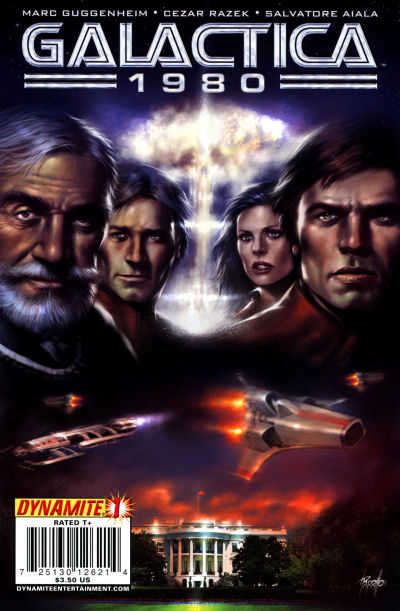 Cover for Galactica 1980 (Dynamite Entertainment, 2009 series) #1