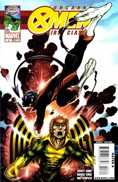Cover for Uncanny X-Men: First Class (Marvel, 2009 series) #3