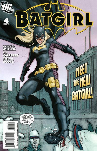 Cover for Batgirl (DC, 2009 series) #4