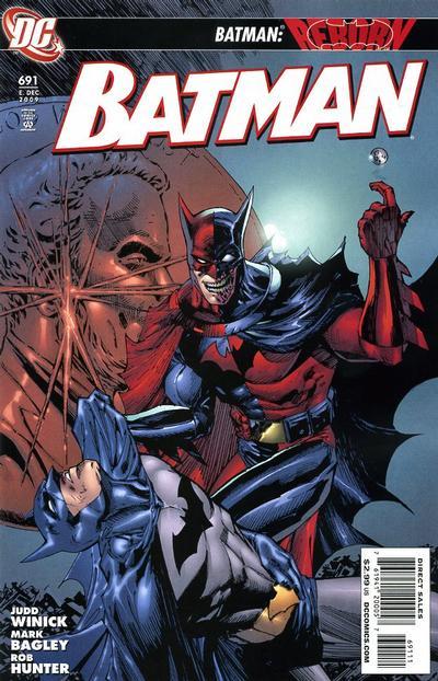 Cover for Batman (DC, 1940 series) #691